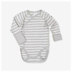 Polarn O Pyret Polarn O. Pyret Baby Stripe Wraparound Bodysuit