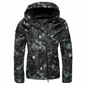Superdry Pop Zip Print Hooded Arctic Sd-Wincheater