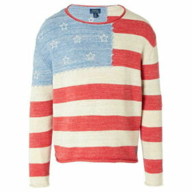 Ralph Lauren Flag Sweater Top