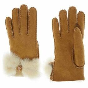 Ugg Sheepskin bow cuff glove