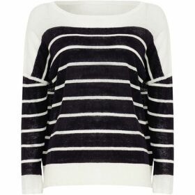Phase Eight Lindsey Linen Stripe Knit