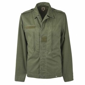 Pretty Green Button Up Overshirt