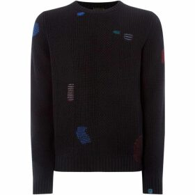 Paul Smith Patch Work Heavy Weight Knit
