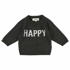 Zadig and Voltaire Baby Grey Knitted Sweater