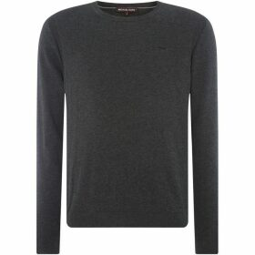Michael Kors Cotton Chest Logo Knitwear