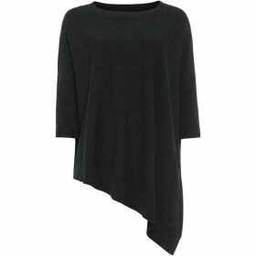Phase Eight Ally Fleck Yarn Slash Neck Knit