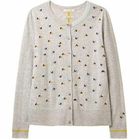 White Stuff Flying Hearts Cardi