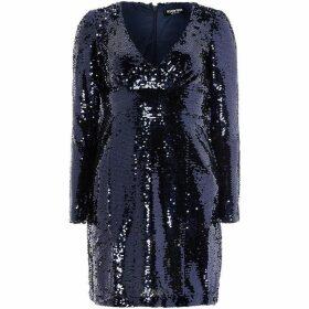 Fashion Union Long sleeve sequin bodycon
