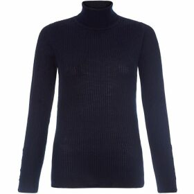 Hobbs Lara Rib Roll Neck