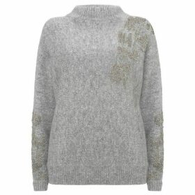 Mint Velvet Granite Embellished Knit