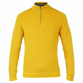 Ted Baker Lohas Long Sleeve Half Zip Funnel Neck Jumper