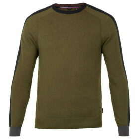 Ted Baker Newpat Long Sleeve Crew Neck Jumper