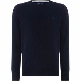 Crew Clothing Company Merino Crew Neck