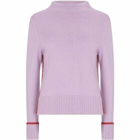 Mint Velvet Lilac & Red Tipped Knit