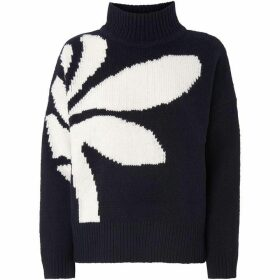 Whistles Palm Intarsia Knit