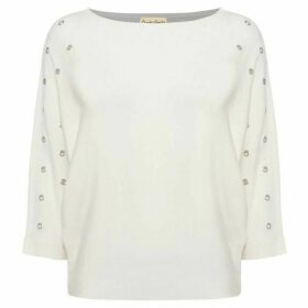 Phase Eight Cristine Scattered Eyelet Knit