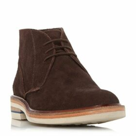 Dune Vellow Unlined Suede Chukkas