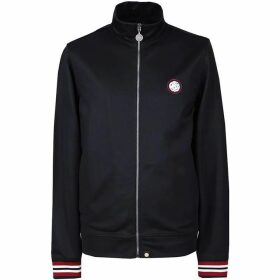 Pretty Green Rib Side Stripe Track Top