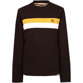Pretty Green Engineered Chest Stripe Sweat