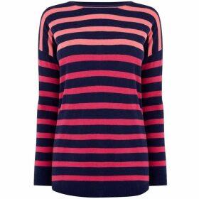 Oasis Delta Stripe Knit