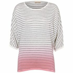 Phase Eight Dani Dip Dye Stripe Knit