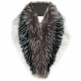 James Lakeland Long Tonal Faux Fur Collar