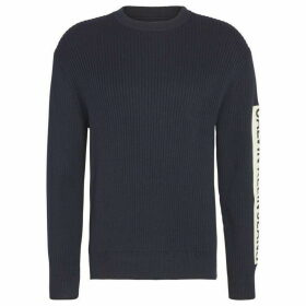 Calvin Klein Jeans Sleeve Patch Sweater