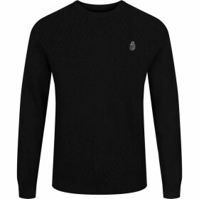 Luke Price Work Knitted Crew Neck