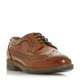 Dune Wf Felixe Wide Fit Lace Up Brogues