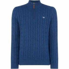 Crew Clothing Company half Zip Regatta Cable