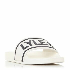 Lyle and Scott Wallace Word Branded Sliders