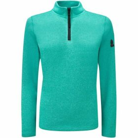 Tog 24 Monza Womens Knitlook Fleece Zipneck