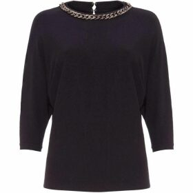Phase Eight Cristine Chain Neck Knit