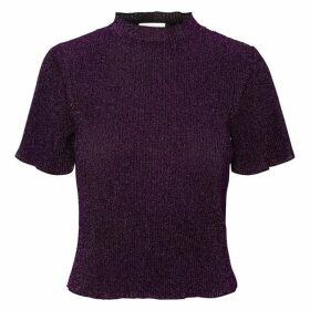 Noisy May AOP Scoop T Shirt Ladies