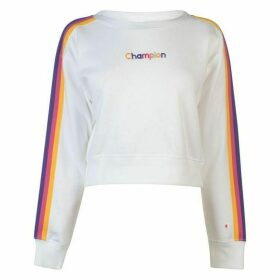 Champion Rainbow Tape Crew Sweater