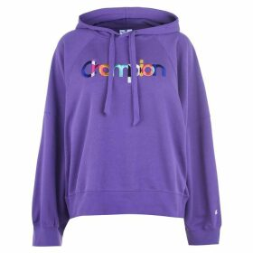 Champion Rainbow Crop OTH Hoodie - Purple