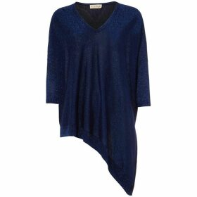 Phase Eight Ally Shimmer V Neck Knit