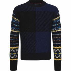 Tommy Hilfiger Fairisle Check Oversized Sweater