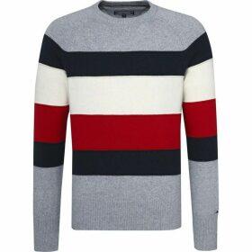 Tommy Hilfiger Colourblock Stripe Sweater