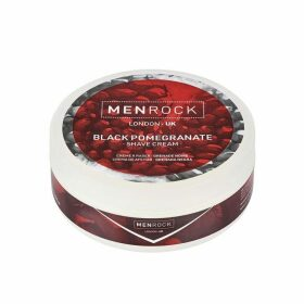 Mens Rock Black Pomegranate Shave Cream