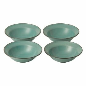 Royal Doulton Gordon Ramsay Teal Blue Small Bowls (x4)