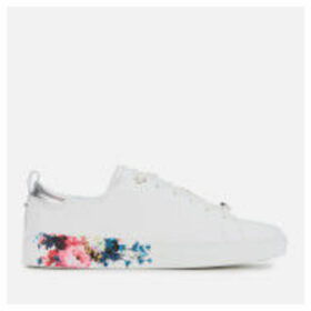 Ted Baker Women's Roully Leather Low Top Trainers - White - UK 4 - White