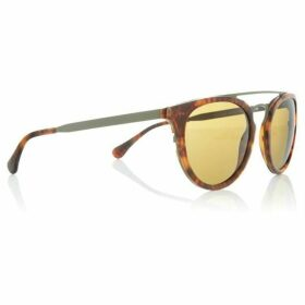 Polo Ralph Lauren Havana PH4121 round sunglasses