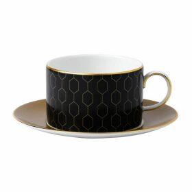 Wedgwood Arris Teacup And Saucer Honeycomb