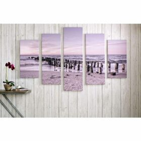 Graham and Brown Tranquil Seascape Printed Canvas