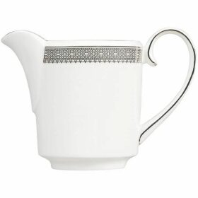 Wedgwood Lace platinum cream jug