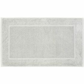 Christy Supreme hygro bath mat silver