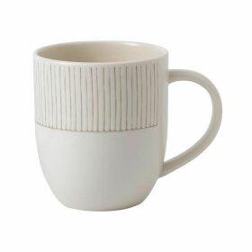Royal Doulton Ellen DeGeneres Taupe Stripe Mug