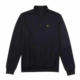 Farah Glebe Half Zip Sweat Top