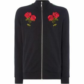 Criminal Damage Embroidered Chest Track Top